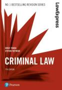 Cover of Law Express: Criminal Law