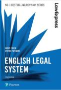 Cover of Law Express: English Legal System