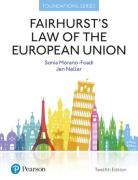 Cover of Fairhurst's Law of the European Union