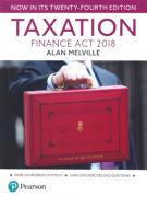 Cover of Taxation: Finance Act 2018