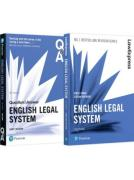Cover of English Legal System Revision Pack 2018: English Legal System Revision Guide and Q&A