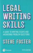 Cover of Legal Writing Skills: A Guide to Writing Essays and Answering Problem Questions