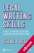 Cover of Legal Writing Skills: A Guide to Writing Essays and Answering Problem Questions (eBook)