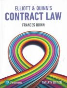 Cover of Elliott & Quinn's: Contract Law