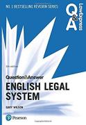 Cover of Law Express Question & Answer: English Legal System Law