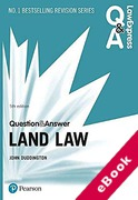 Cover of Law Express Question & Answer: Land Law (eBook)