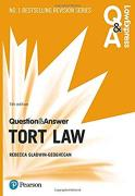 Cover of Law Express Question & Answer: Tort Law