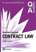 Cover of Law Express Question & Answer: Contract Law