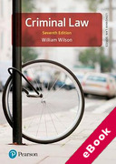 Cover of Criminal Law (eBook)