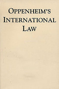 Cover of Oppenheim's International Law 9th ed: Volume 3 Law of the United Nations