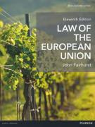 Cover of Law of the European Union 11st ed (MyLawChamber)