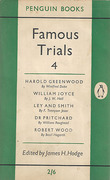 Cover of Famous Trials 4: Harold Greenwood, William Joyce, Ley and Smith. Dr Pritchard, Robert Wood