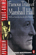 Cover of Famous Trials of Marshall Hall