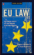 Cover of EU Law: The Essential Guide to the Legal Workings of the European Union