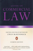 Cover of Goode on Commercial Law