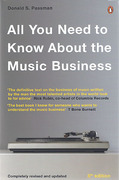 Cover of All You Need to Know about the Music Business