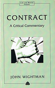 Cover of Contract: A Critical Commentary