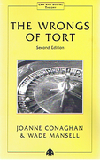 Cover of The Wrongs of Tort