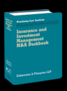 Cover of Insurance and Investment Management M&A Deskbook Looseleaf
