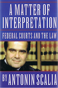 Cover of A Matter of Interpretation: Federal Courts and the Law