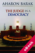 Cover of The Judge in a Democracy (eBook)