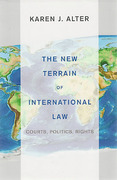 Cover of The New Terrain of International Law: Courts, Politics, Rights