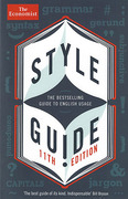 Cover of The Economist Style Guide