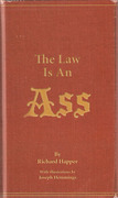 Cover of The Law Is An Ass