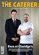 Cover of The Caterer: Magazine
