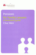 Cover of Pensions for Family Lawyers: A Resolution Guide
