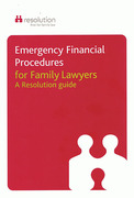 Cover of Emergency Financial Procedures for Family Lawyers: A Resolution Guide