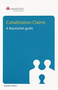 Cover of Cohabitation Claims: A Resolution Guide
