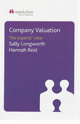 Cover of Company Valuations: The Experts' View