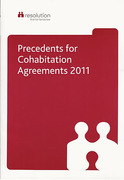 Cover of Precedents for Cohabitation Agreements 2011