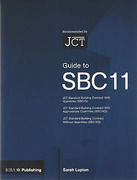Cover of Guide to SBC 11: The JCT Standard Building Contract