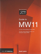 Cover of Guide to MW 11: JCT Minor Works Building Contract