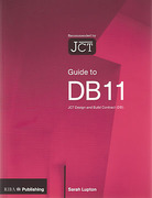 Cover of Guide to DB 11: The JCT Design and Build Contract