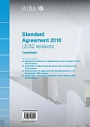 Cover of RIBA Standard Agreement 2010 (2012 revision): Consultant