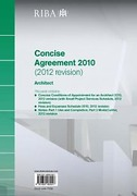 Cover of RIBA Concise Agreement 2010 (2012 revision): Architect