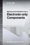 Cover of RIBA Agreements 2010 (2012 revision) Electronic Only Components - Printed Copy