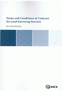 Cover of Terms and Conditions of Contract for Land Surveying Services