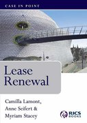 Cover of Lease Renewal: Case in Point