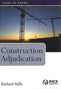 Cover of Construction Adjudication : Case in Point