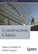 Cover of Construction Claims: Case in Point
