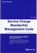 Cover of Service Charge Residential Management Code and Additional Advice to Landlords, Tenants and Agents