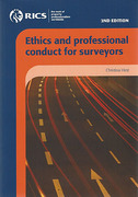 Cover of Ethics and Professional Conduct for Chartered Surveyors