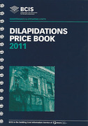 Cover of BCIS Dilapidations Price Book 2011