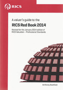 Cover of A Valuer's Guide to the RICS Red Book 2014