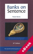 Cover of Two Volume Set: Banks on Sentence 12th ed (eBook)