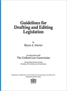 Cover of Guidelines for Drafting and Editing Legislation